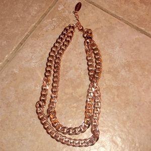 Rose Gold BaubleBar Necklace